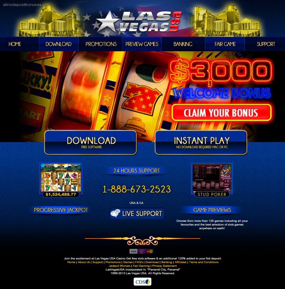 No deposit bonus codes for las vegas usa casino hotels near argosy casino