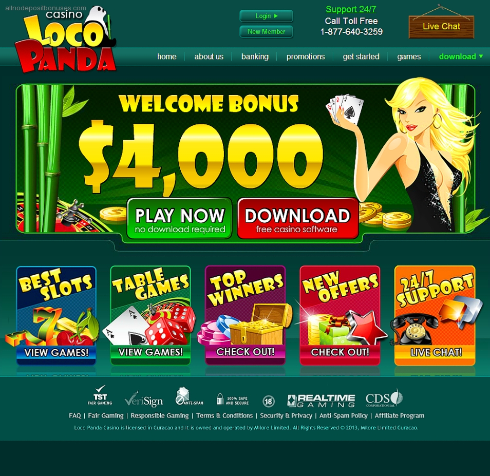 all slot casinos no deposit bonuses codes