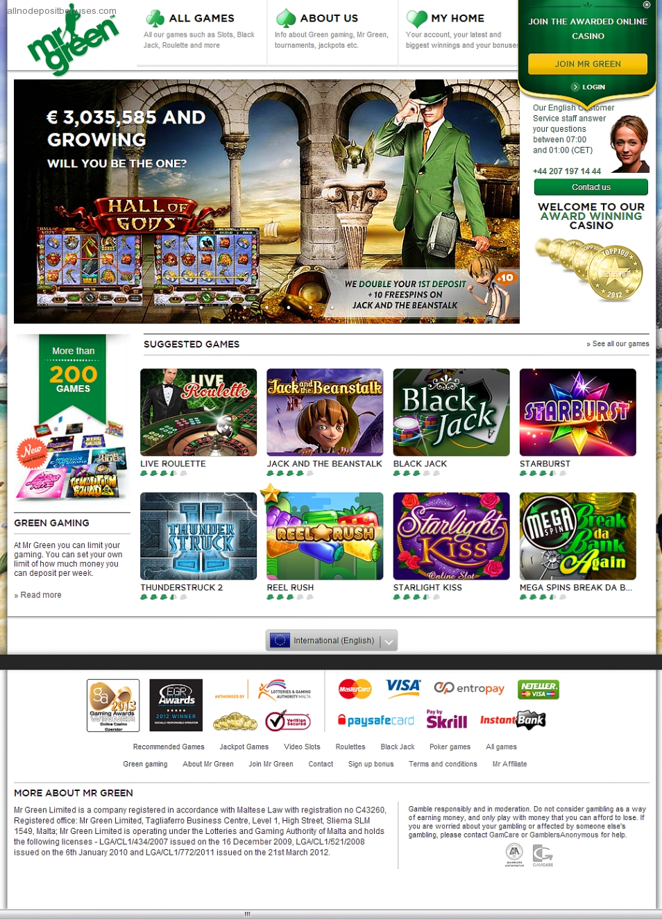 casino online with free bonus no deposit lucky charm book