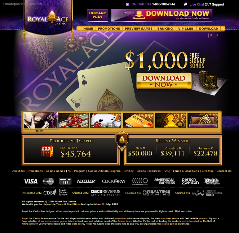 royal ace casino $200 no deposit bonus codes 2019