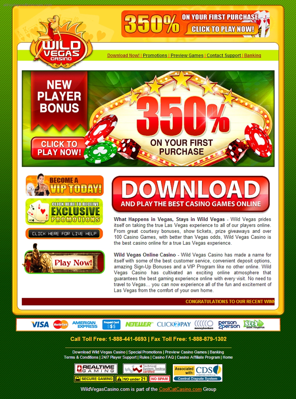 Casinos coupons